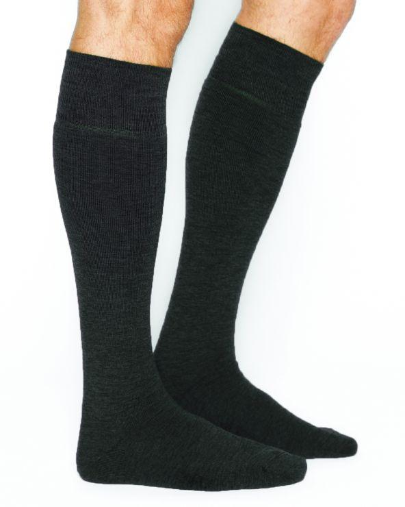 Warme hoge wollen sokken