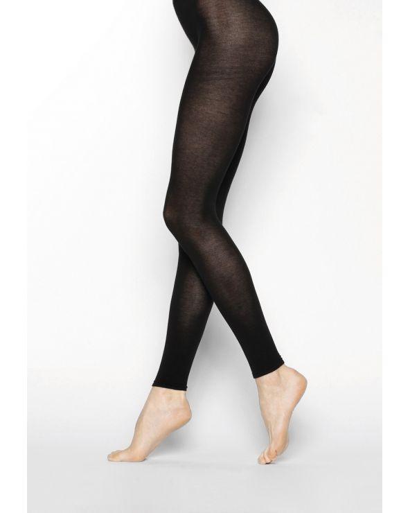 Legging pur Coton velouté
