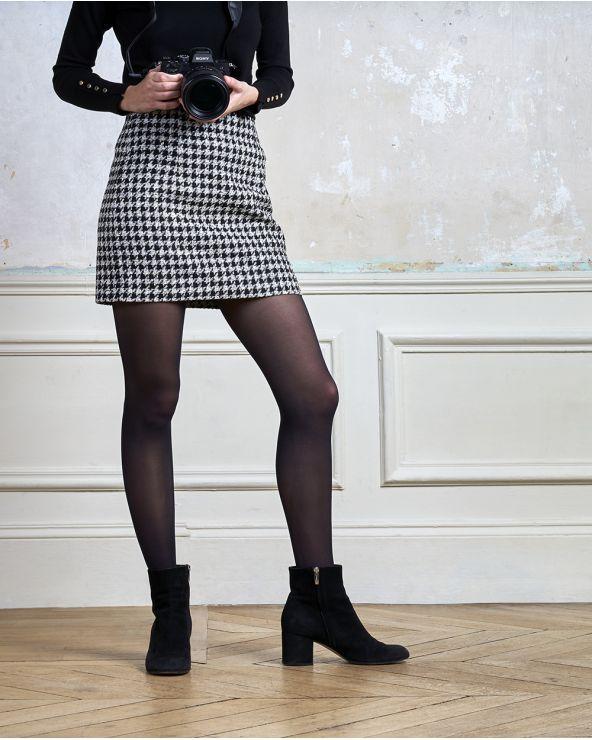 Semi-ondoorzichtige panty 30D - Excellence