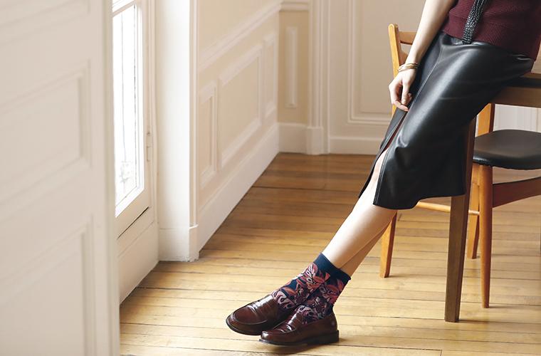 Chaussettes coton femme